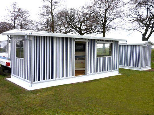 Aluminium-STANDARDVORZELTE, Sichtschutz, Gerätezelt & Pavilion, Wohnwagen-Schutzdächer