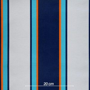 Blau Orange Mint Grau
