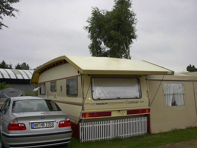 ECE Wohnwagen Schutzddach