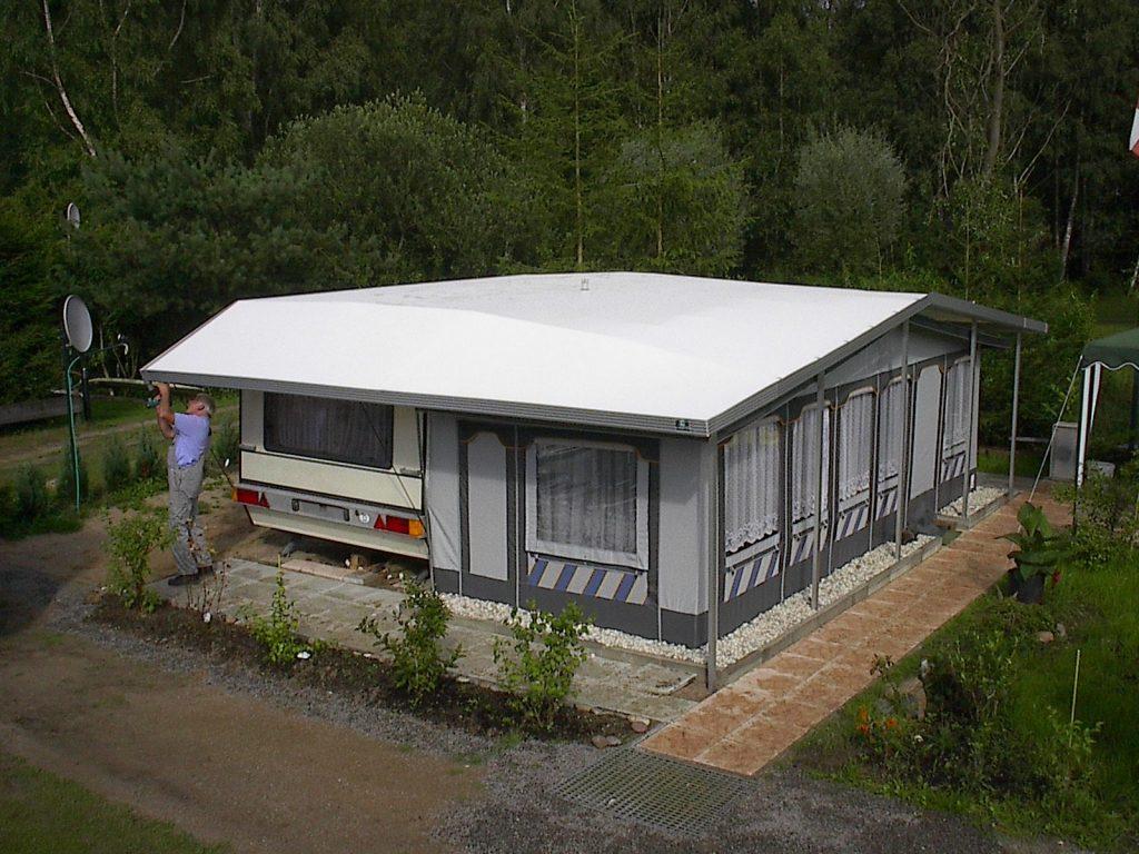 ece vorzelt wohnwagen schutzd cher ece planenbau. Black Bedroom Furniture Sets. Home Design Ideas