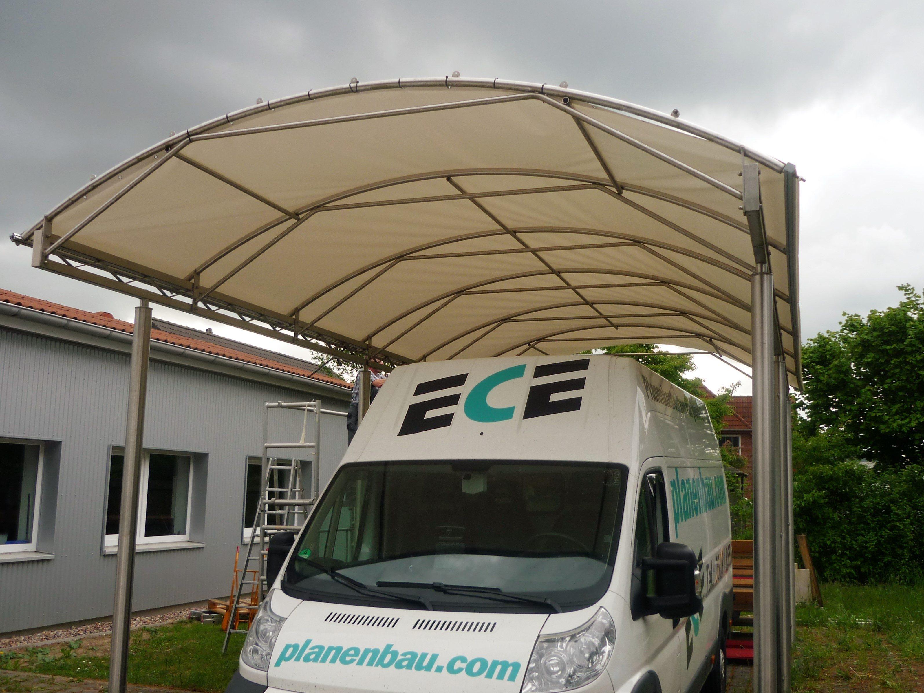 ECE Carport Planen